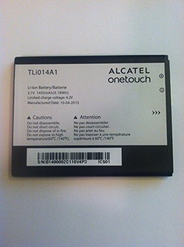 Alcatel Battery (NEW OEM ALCATEL TLi014A1 OT918 GLORY 2 OT-991 INSPIRE 2 5020 M POP OT-4012A FIRE OT-4005D BATTERY O4L)