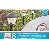 Smartyard Solar LED Rechargeable Pathway Lights - 8 pack