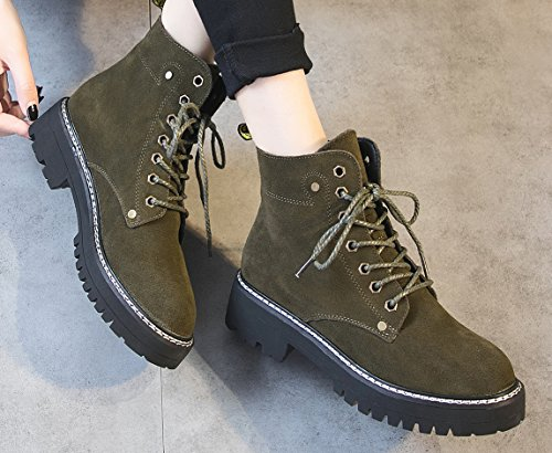 D2C Beauty Womens Snake Suede Skinned High Top Lace Up Velcro Wedge Synthetic Sneakers Green-2 Y2oUa
