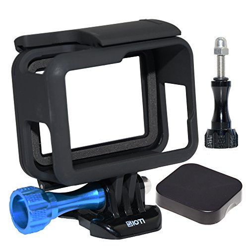 Housing Cover Screws (SIOTI Frame Mount Protective Housing with Lens Cap Cover and Aluminum Alloy Screw for GoPro Hero 5)