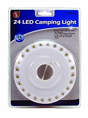 SE FL8824 Super Bright 24-LED Camping Light