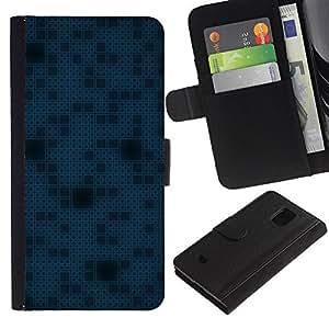 iBinBang / Flip Funda de Cuero Case Cover - Simple patrón de 11 - Samsung Galaxy S5 Mini, SM-G800, NOT S5 REGULAR!
