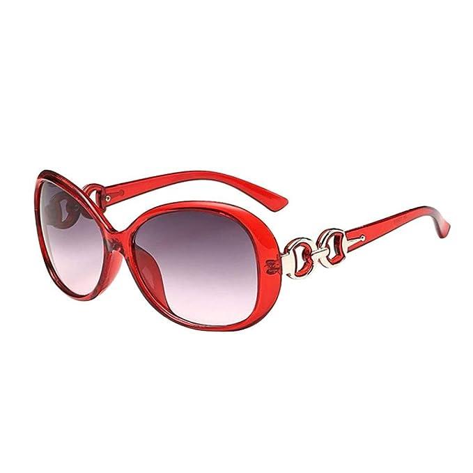 ZHRUI Gafas polarizadas Gafas de Sol para Hombres Mujeres Gafas de Seguridad Protección UV Gafas Retro Claro para niños pequeños Niñas Damas Vintage Espejo ...