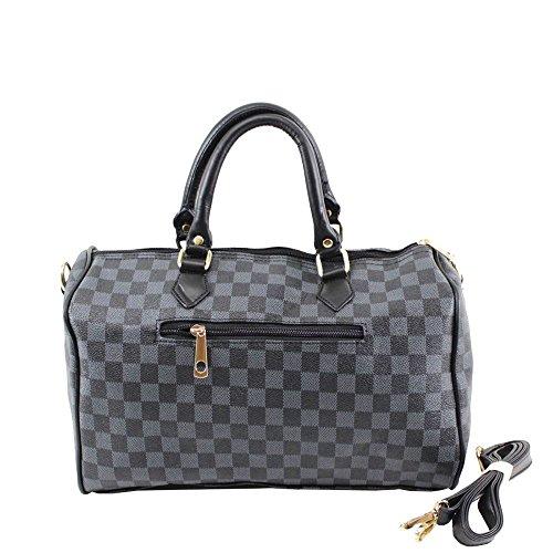 gris Noir Sac à pour porter grand femme l'épaule à Hautefordiva O0wvv