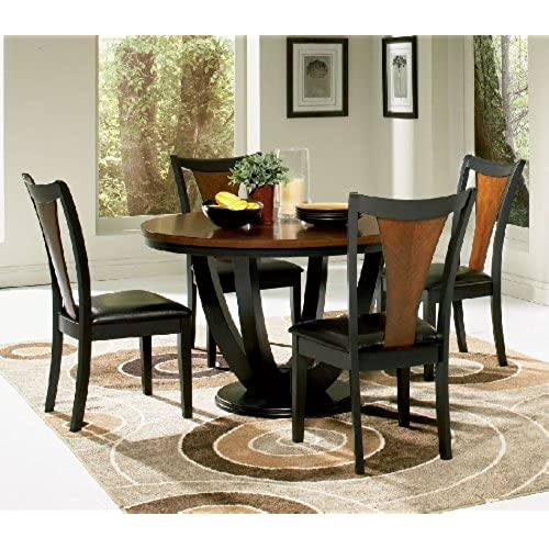 Round Dining Room Table Set: Amazon.com