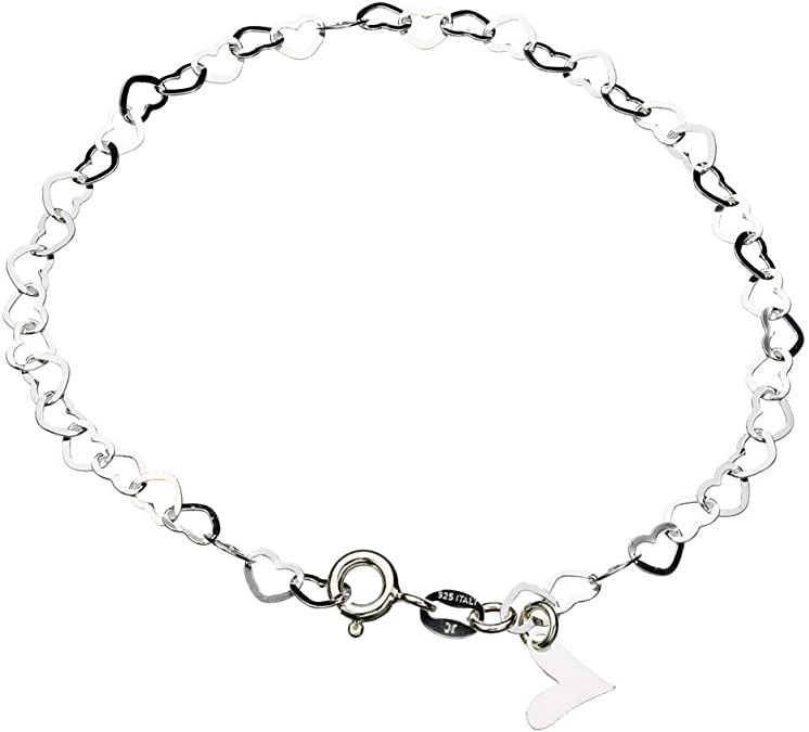 for Woman Round Pendant CHENCAN01 Elegant Round Silver Pendant Anklet Gold Anklet Multi Layered Charm