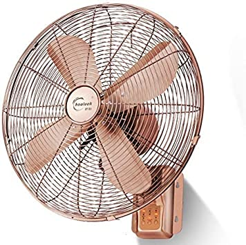 LAZ Ventilador Industrial Antiguo montado en la Pared, operación silenciosa, con Control Remoto, Ventilador de Aire oscilante de ángulo Amplio y oscilante for el Home Office Gym Warehouse