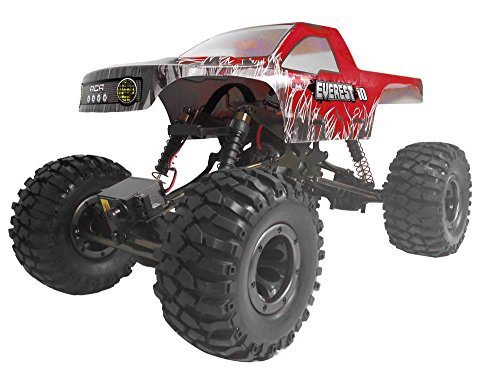 Rock Crawler Suspension (Redcat Racing Everest-10 Electric Rock Crawler with Waterproof Electronics, 2.4Ghz Radio Control (1/10 Scale), Red)