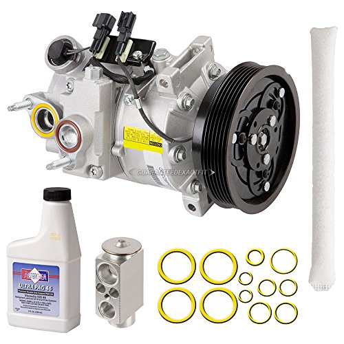 OEM AC Compressor w/A/C Repair Kit For Volvo S80 2014 - BuyAutoParts 60-81597RN NEW ()