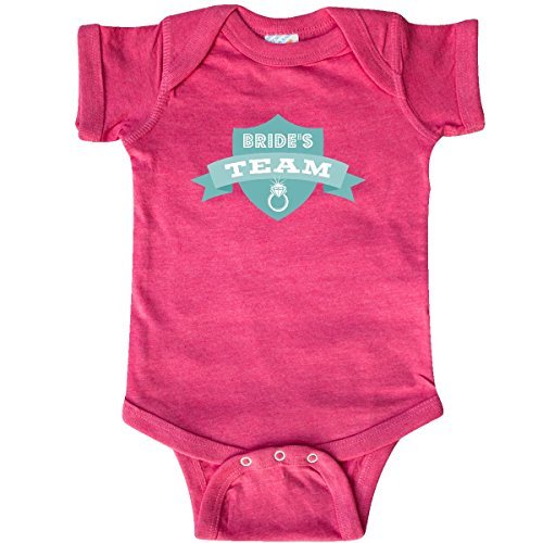 inktastic - Banner Bride's Infant Creeper 12 Months Retro Heather Pink 29be7 ()