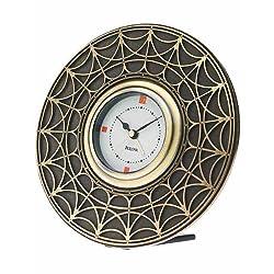 Frank Lloyd Wright Blossom House Table Top Clock by Bulova - B7763