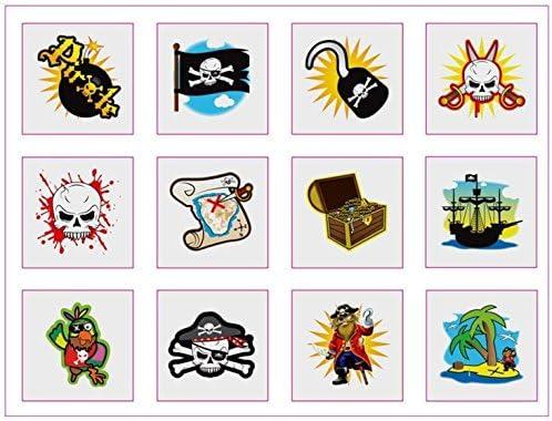 72 Lindo Tatuajes temporales Juguetes Para Piñata//DETALLES DE BODA Niños