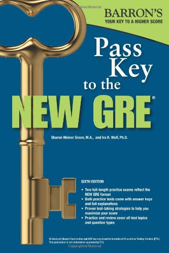 Pass Key to the New GRE, 6th Edition (Barron's Pass Key to the New GRE)