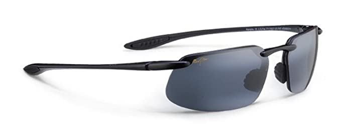 cf81dd88ca65 Maui Jim Kanaha Sunglasses - Color: 409-02 Gloss Black/Neutral Gray  Polarized