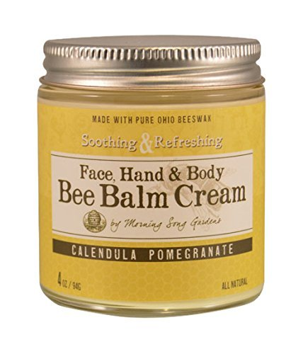 Bee Balm Cream Calendula Pomegranate, 4 oz by Bee Balm Cream