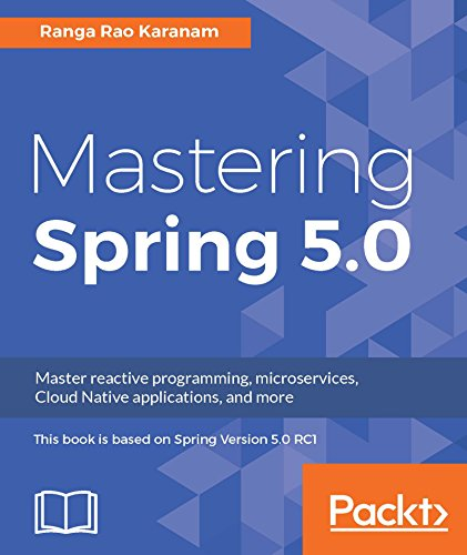Mastering Spring 5.0 book cover