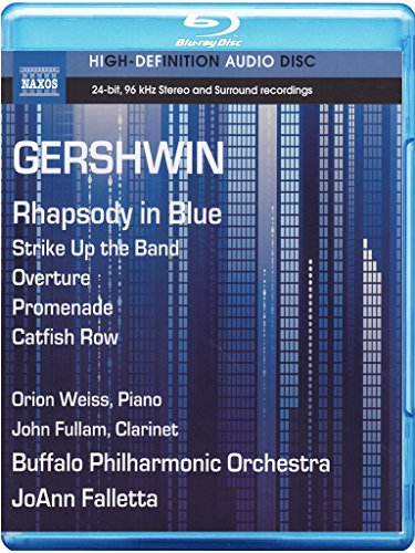 Gershwin:  Rhapsody in Blue, Strike Up the Band Overture, Promenade, Catfish Row (Blu Ray - In Stores The Promenade