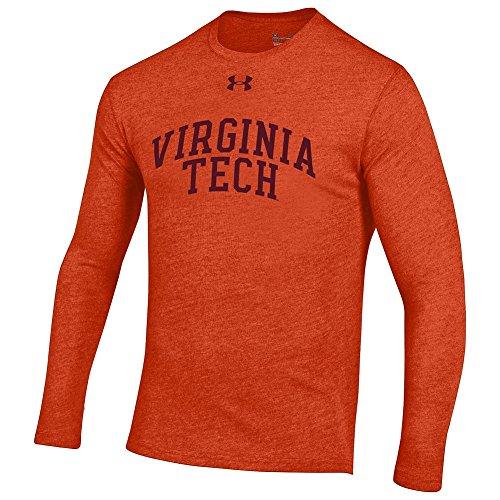 Under Armour Virginia Tech Hokies Triblend Long Sleeve Tshirt Orange - ()