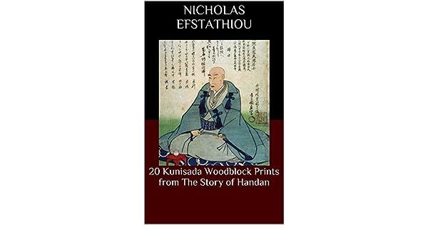20 Kunisada Woodblock Prints from The Story of Handan