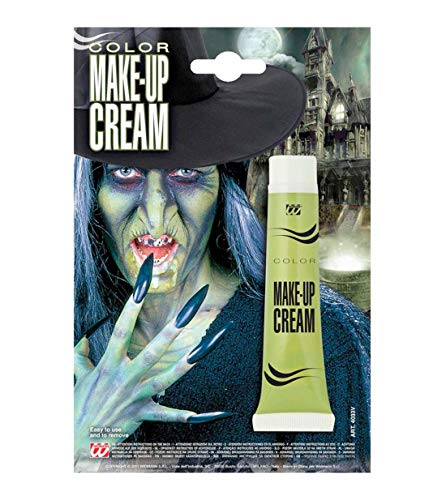 Rimi Hanger Face Paint Make Up Cream Fake Blood Skin Halloween Party Fancy Dress Accessory Green One Size