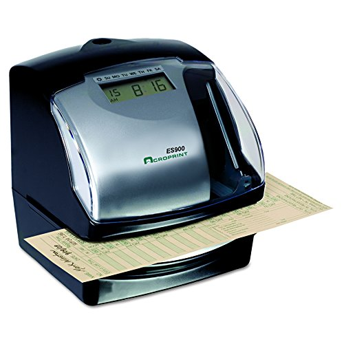 Acroprint ES900 Electronic Payroll Recorder/Time Stamp/Numbering Machine by Acroprint (Image #1)