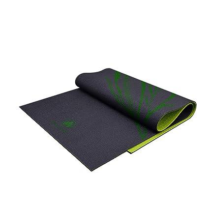 Amazon.com : DYJ Yoga Mat, Non-Slip Widened Black Fitness ...