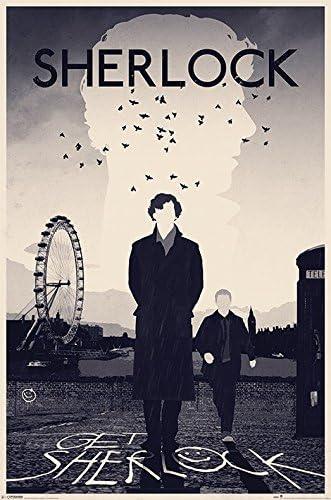 Pyramid International London Sherlock Maxi Poster 61/x 91.5/x 1.3/cm Multicolore