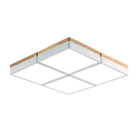 DengWu Lámpara de techo Salón de luces led simple atmósfera ...