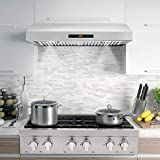 Cosmo UMC30 30 in. Under Cabinet Stainless Steel
