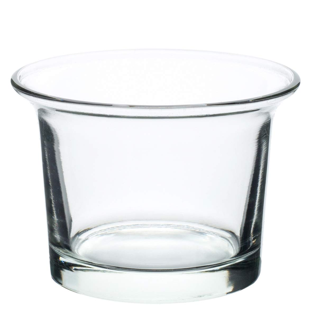 Royal Imports Candle Holder Glass Votive Wedding, Birthday, Holiday & Home Decoration, Oyster, Set of 36 - Unfilled