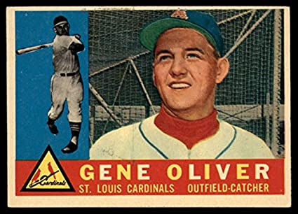 Amazon.com  Baseball MLB 1960 Topps  307 Gene Oliver Excellent ... a51ab586c