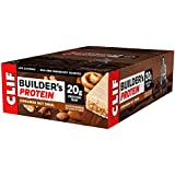 CLIF BUILDER'S - Protein Bar - Cinnamon Nut Swirl - (2.4 Ounce Non-GMO Bar, 12 Count)