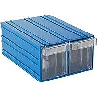 Sembol Plastik Çekmeceli Kutu 501-2 Mavi