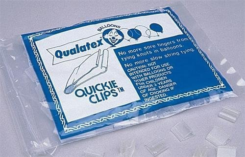 Quickie Balloon Clips - 100/pk