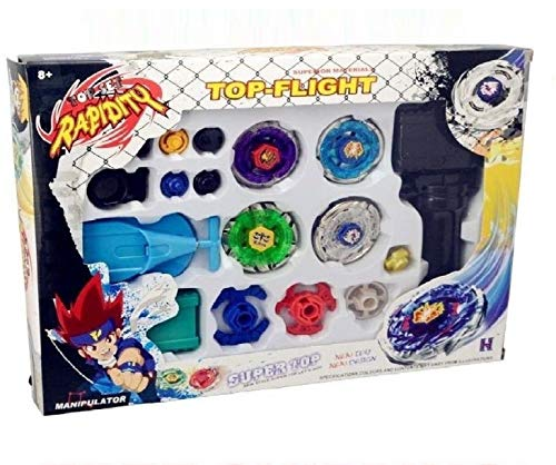 Z Beyblade Metal Fusion Masters Fight Launcher Rare Toy Set 4D from Z