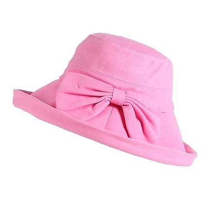 Zhou Yunshan Sombrero Grande de la sombrilla del Borde para Las Mujeres  Sombreros Plegables del Recorrido fd886d22b069