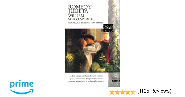 Amazon.com: Romeo y Julieta / Romeo And Juliet (Cara y Cruz) (Cara y Cruz) (Spanish Edition) (9789580467489): William Shakespeare, Luis Astrana Marin: Books