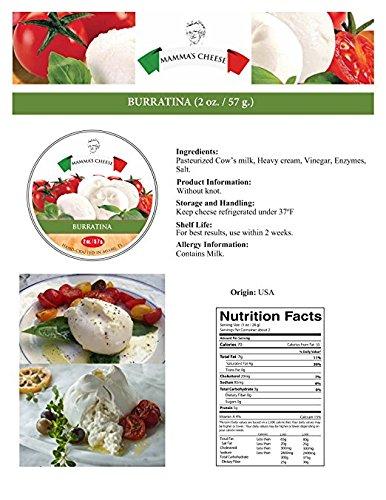 Burratina Cheese (Bocconcini) 2 oz - 24 pieces