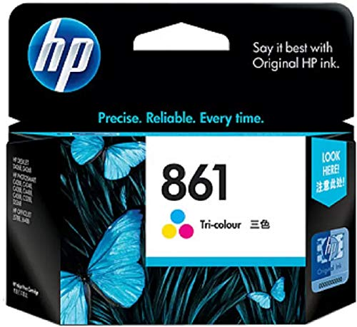 HP 861 Inkjet Print Cartridge  Tri Color