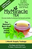 Dr. Miller's Holy Tea | My Miracle Tea Constipation Relief and Detox Tea (1 Month Supply Teabags) Review