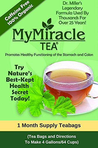 Cheap Dr. Miller's Holy Tea | My Miracle Tea Constipation Relief and Detox Tea (1 Month Supply Teabags)