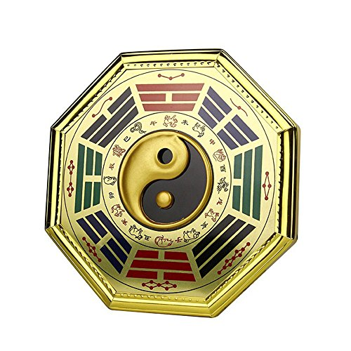 (FengShuiGe Yin Yang Ba gua Baguas Bagua for Protection and Prosperity and Treasure Wealth Luckly)