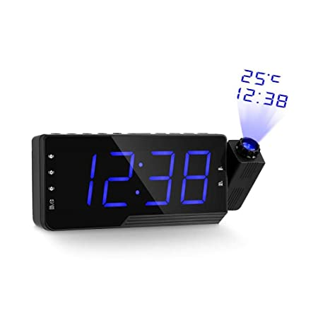 SlimpleStudio Despertador Digital,Reloj Despertador de Radio ...