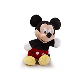 Quirón - Peluche Mickey Club House Flopsie 35 cm., color rojo y negro (