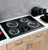 30'' Coil Electric Cooktop with Four Heating Elements & Upfront Controls
