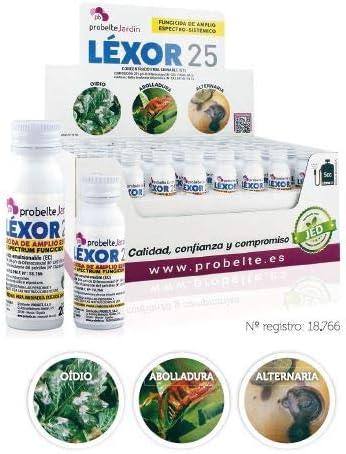 Probelte Jardín Fungicida Contacto Líquido Oídio Léxor 25 (Difenoconazol 25%) 5 CC.