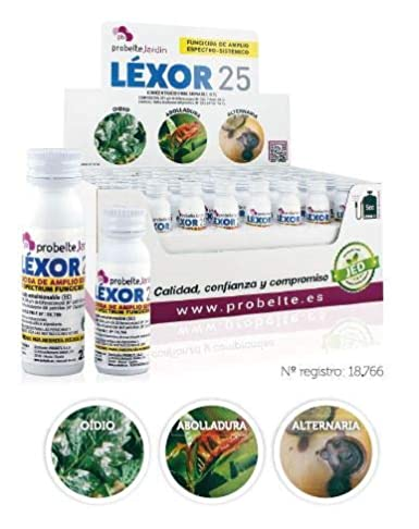 Fungicida Contacto Líquido Oídio Léxor 25 (Difenoconazol 25%) 20 cc.
