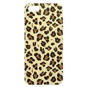 Loud Universe Apple iPhone 5/5s Cheetah Print 3D Wrap Around Back Case - Multi Color