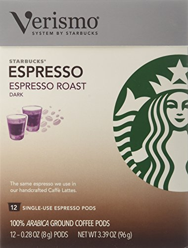 Starbucks® Espresso Roast VerismoTM Pods,12-0.28 oz