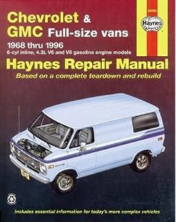 Chevrolet Vans, 1967-86 (Haynes Repair Manuals): Chilton